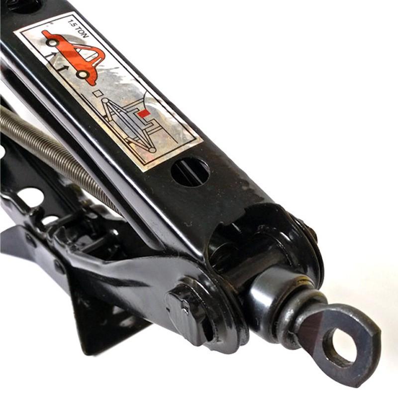 1 Ton Heavy Duty Scissor Car Jack Patented Small Light Jacks Manual Thick Hand Tyre Change Vehicle Truck Repairing Tool Workshop Repair Work