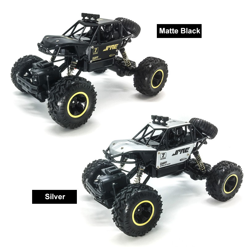 1/16 RC Car Remote Control Car Monster Truck 2.4GHz 4WD Rechargeable Off-Road Toys Buggy Vehicle Kids Christmas Children